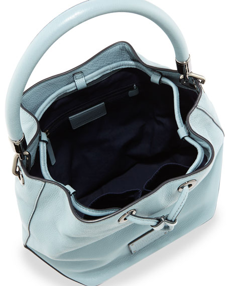New Too Hot to Handle Large Bucket Bag, Ice Blue