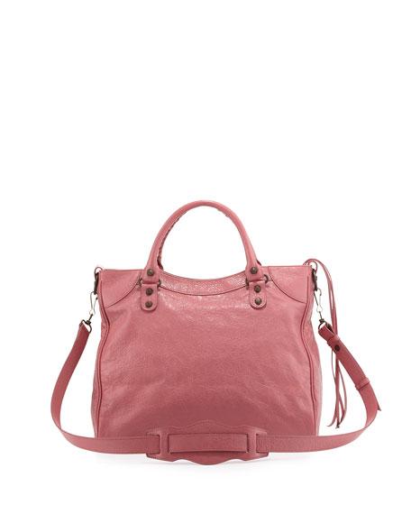 Classic Velo Lambskin Crossbody Bag