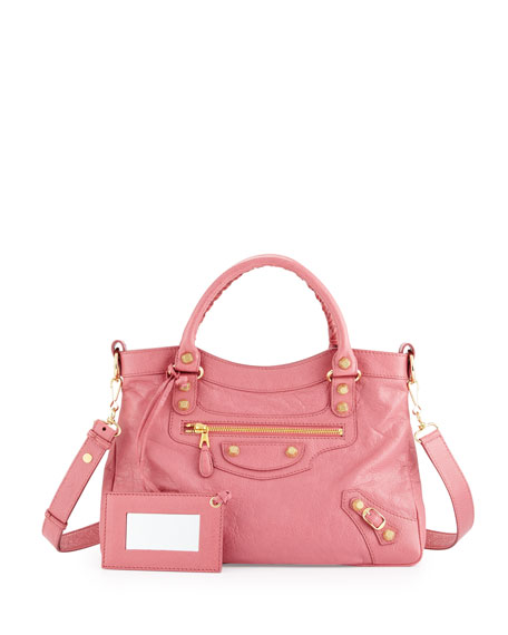 Balenciaga Giant 12 Town Tote Bag, Rose