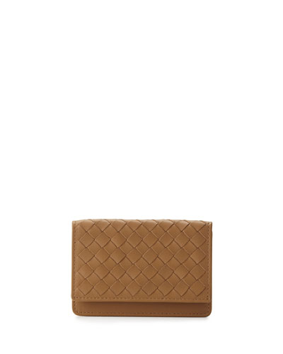 5/6 Flip Credit Card Case, Camel