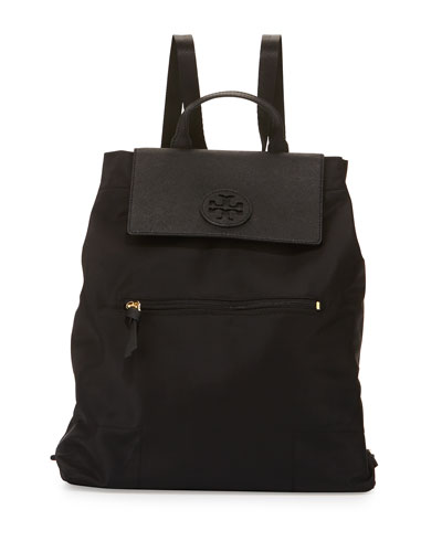 Ella Packable Backpack, Black