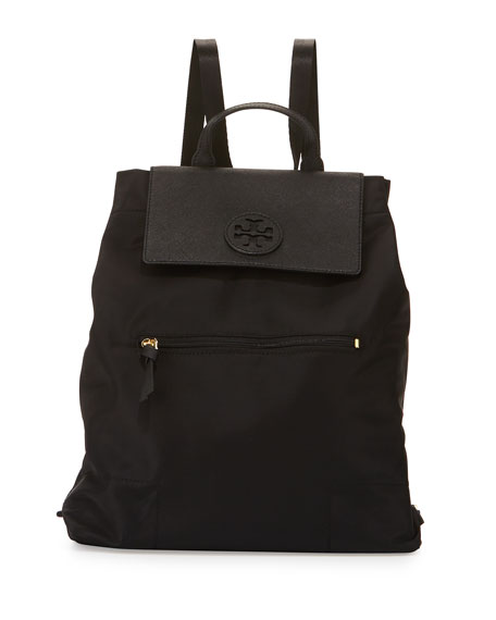 Tory Burch Ella Packable Backpack, Black