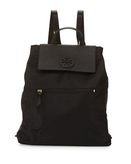 Tory Burch Ella Packable Backpack, Black