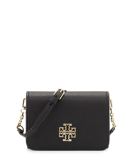 Tory Burch Britten Combo Crossbody Bag, Black