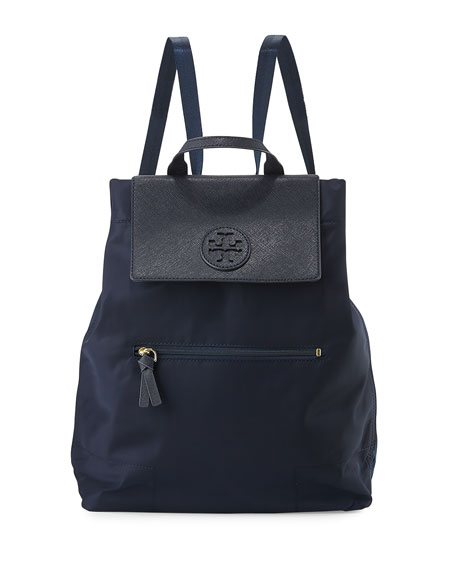 Tory Burch Ella Packable Backpack, Navy