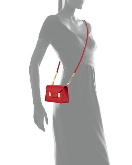 Milner Nano Crossbody Bag, Crimson