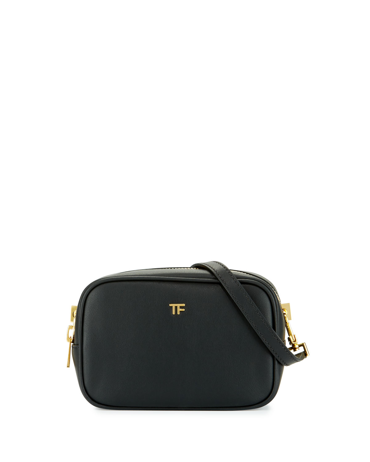 a2908cfb94dd TOM FORD TF Leather Camera Bag with Crossbody Strap