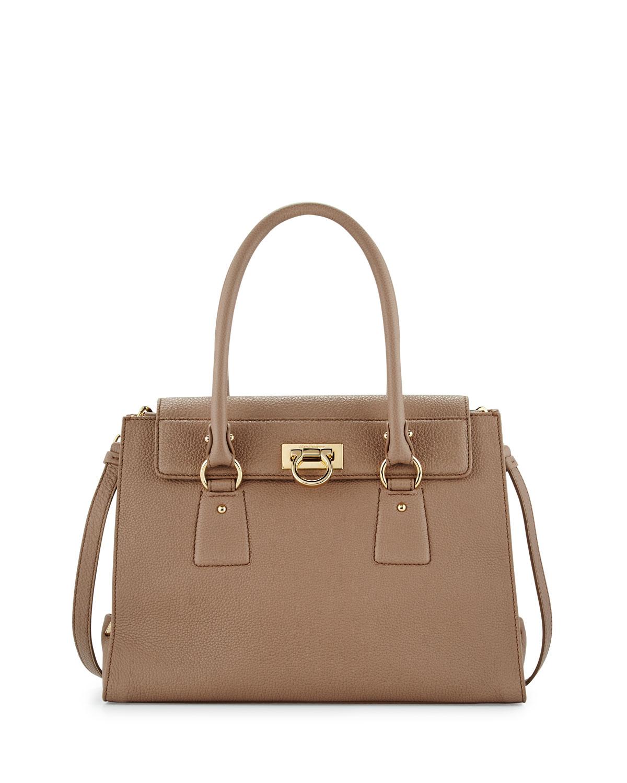 148a969b10bd Salvatore Ferragamo Lotty Medium Flap Bag
