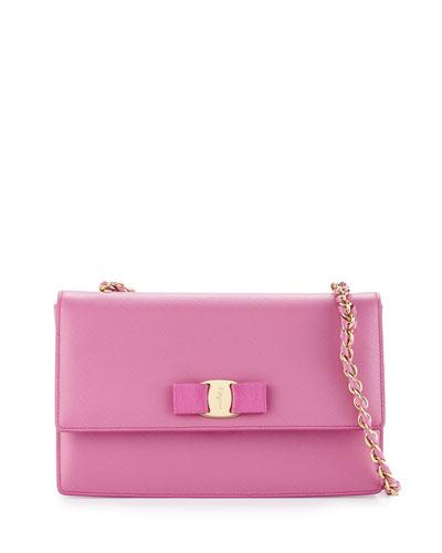 Ginny Vara Medium Crossbody Bag, Anemone