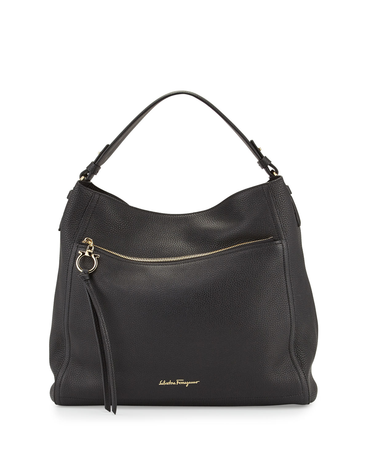 1bbfe85e91 Salvatore FerragamoLeather Hobo Bag
