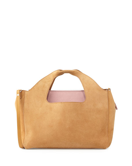 THE ROW Two for One 12th Suede Tote