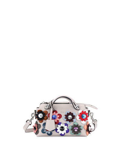 By the Way Mini Flowers Satchel Bag, White Multi