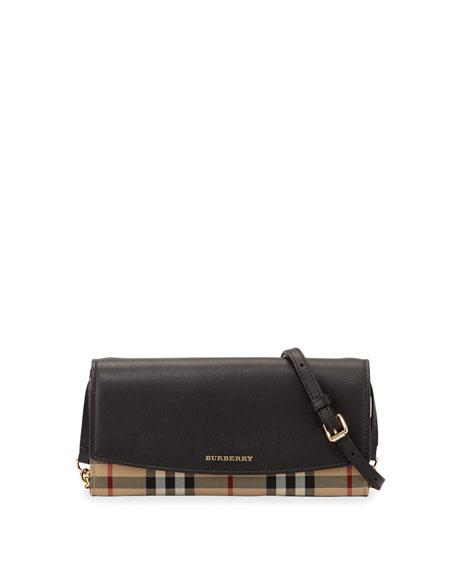 Burberry Horseferry Henley Crossbody Bag, Black