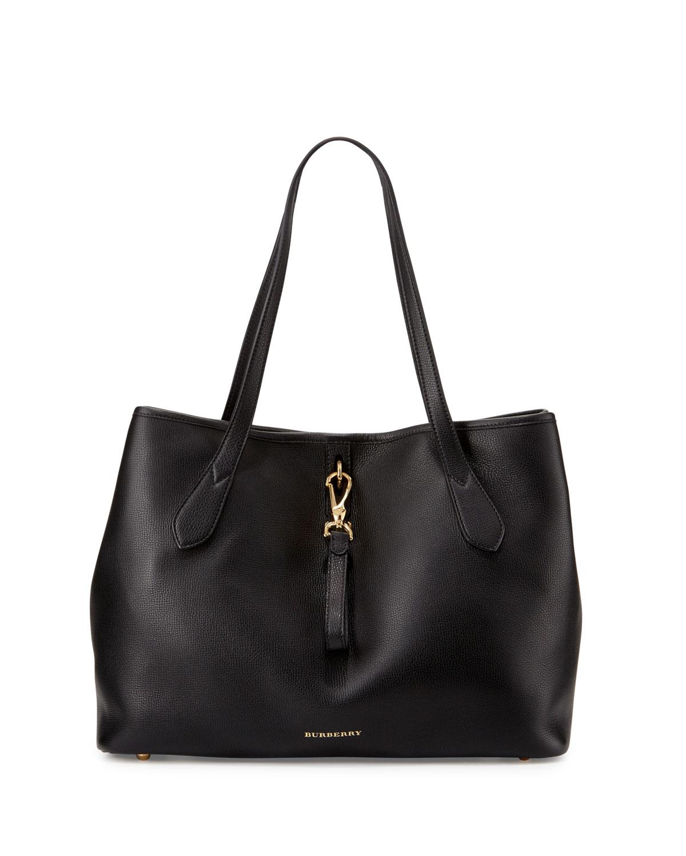 5be2850c4546 Burberry Honeybrook Medium Derby Tote Bag