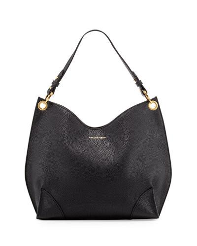 Legend Small Hobo Bag, Black
