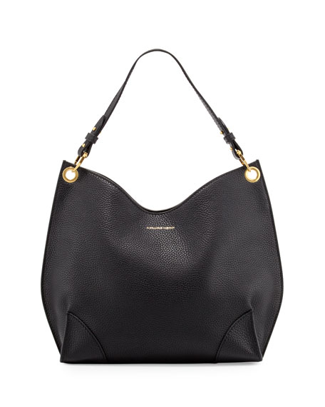 Alexander McQueen Legend Small Hobo Bag, Black