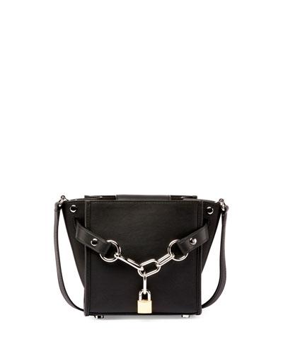 Attica Mini Chain Shoulder Bag, Black