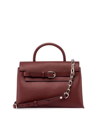 Attica Chain Crossbody Bag, Beet
