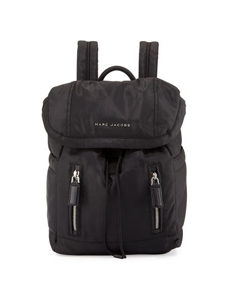 Marc Jacobs Mallorca Nylon Backpack, Black