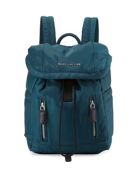 Marc Jacobs Mallorca Nylon Backpack, Teal