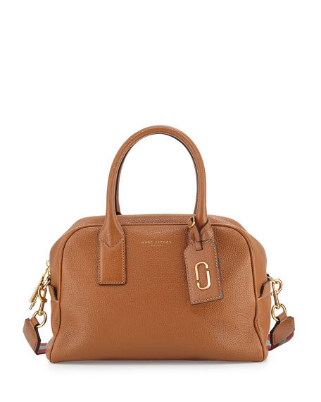 Marc Jacobs Gotham Bauletto Satchel Bag, Maple Tan