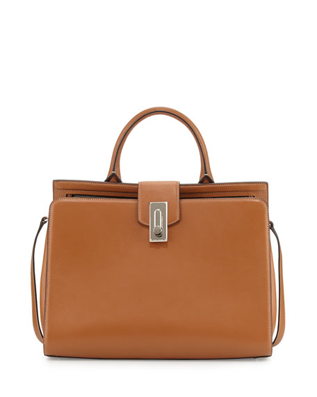 Marc Jacobs West End Large Satchel Bag, Maple