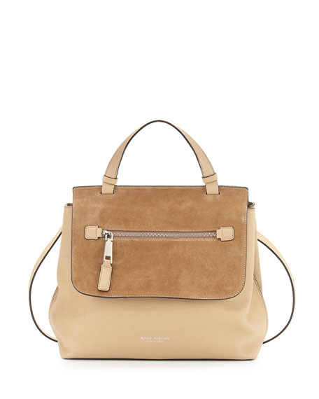 Marc Jacobs The Waverly Large Satchel Bag, Maple