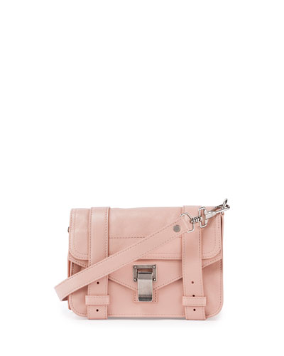 PS1 Mini Luxe Leather Crossbody Bag, Bare