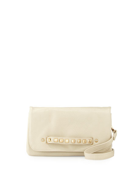Urban Originals Raider Fold-Over Clutch Bag, Stone