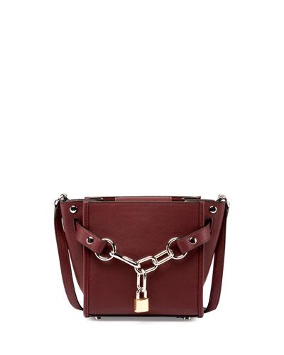 Attica Mini Chain Shoulder Bag, Beet