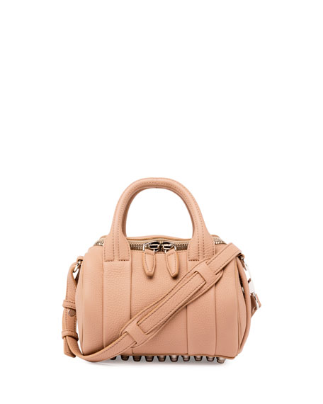 Alexander Wang Mini Rockie Soft Pebbled Duffel Bag,
