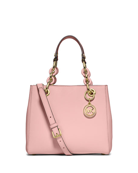 MICHAEL Michael Kors Cynthia Small North-South Satchel Bag,