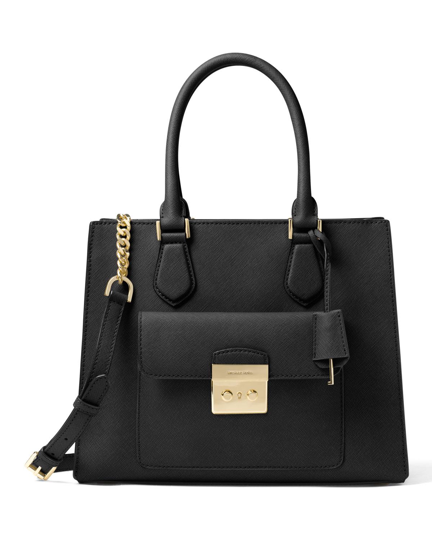 a39230b1151f8d MICHAEL Michael Kors Bridgette Medium East-West Tote Bag, Black ...
