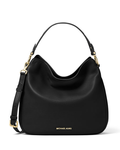 MICHAEL Michael KorsHeidi Medium Convertible Shoulder Bag, Black