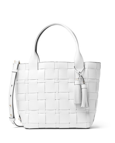 MICHAEL Michael Kors Vivian Medium Woven Tote Bag,