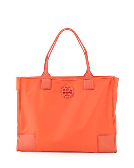 Tory Burch Ella Packable Nylon Tote Bag, Sea