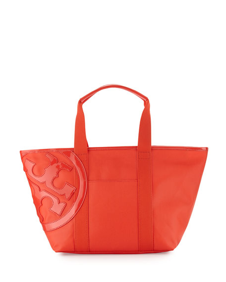 Tory Burch Beach Small Zip Tote Bag, Red