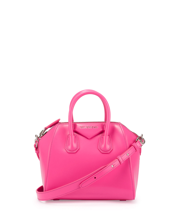 a2949232e3 Givenchy Antigona Mini Box Calfskin Satchel Bag