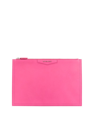 Antigona Medium Sugar Pouch Bag, Bright Pink