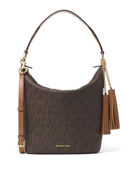 MICHAEL Michael KorsElana Large Convertible Shoulder Bag, Brown