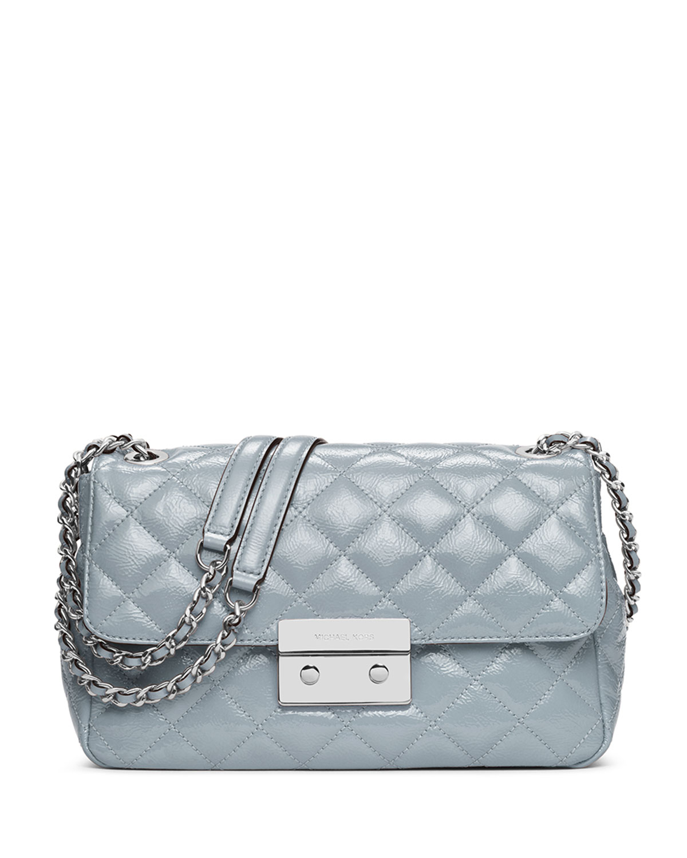 3a52813706633 MICHAEL Michael Kors Sloan Large Chain Patent Shoulder Bag