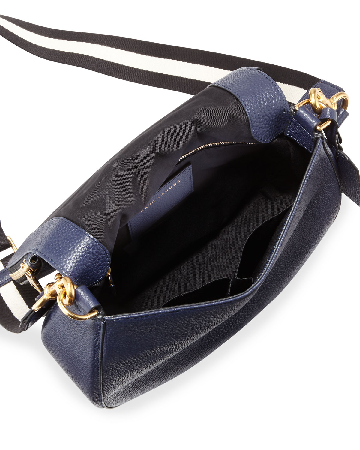 Marc By Jacobs Gotham Leather Saddle Bag Navy Neiman Marcus Tendencies Back Pack Arcus