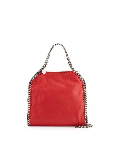 Falabella Mini Tote Bag, Red