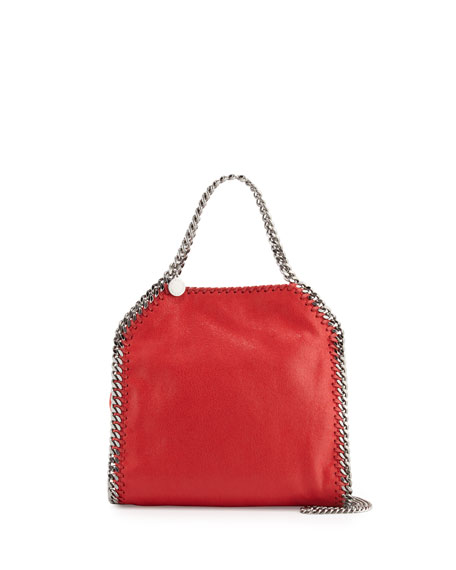 Falabella Mini Tote Bag, Red