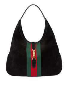 e412c97f9910 Gucci Jackie Soft Leather Hobo Bag Black | Division of Global Affairs