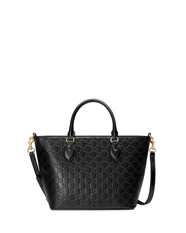 086e042f47c Gucci Guccissima Small Leather Tote Bag