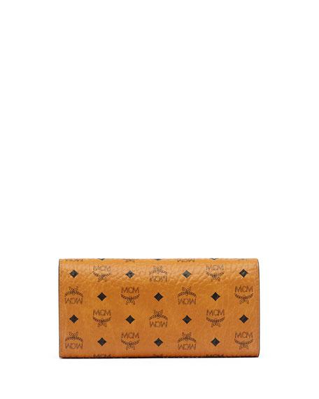 Color Visetos Large Tri-Fold Wallet