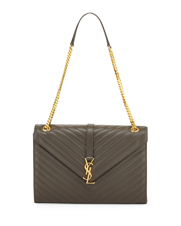 dd94e0095a Saint Laurent Monogram Large Kate Chain Shoulder Bag