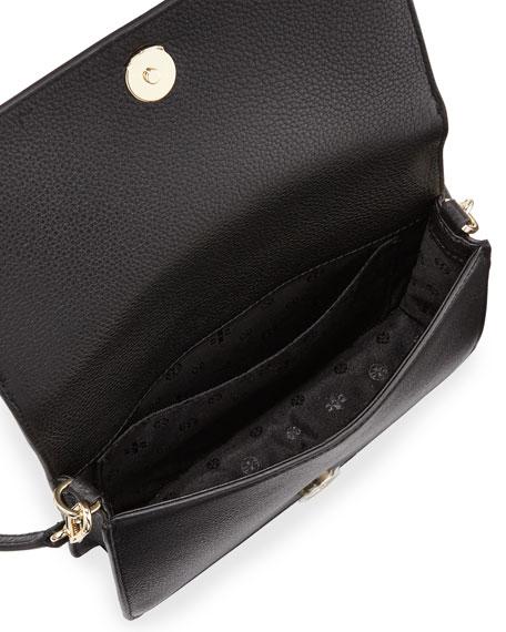 Bombé-T Small Crossbody Bag, Black
