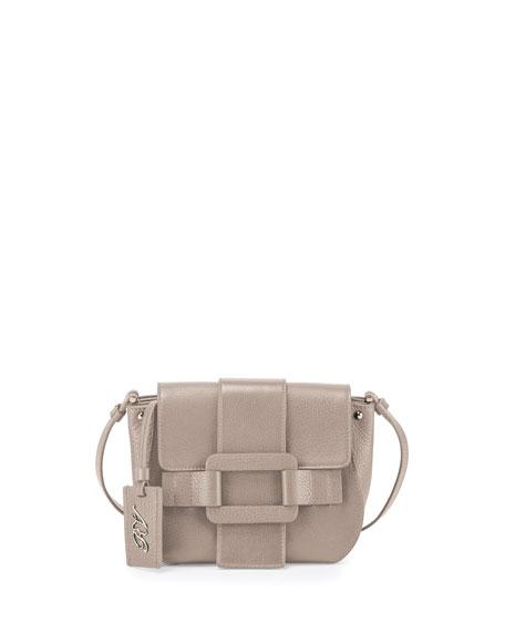Pilgrim De Jour Leather Crossbody Bag, Stone